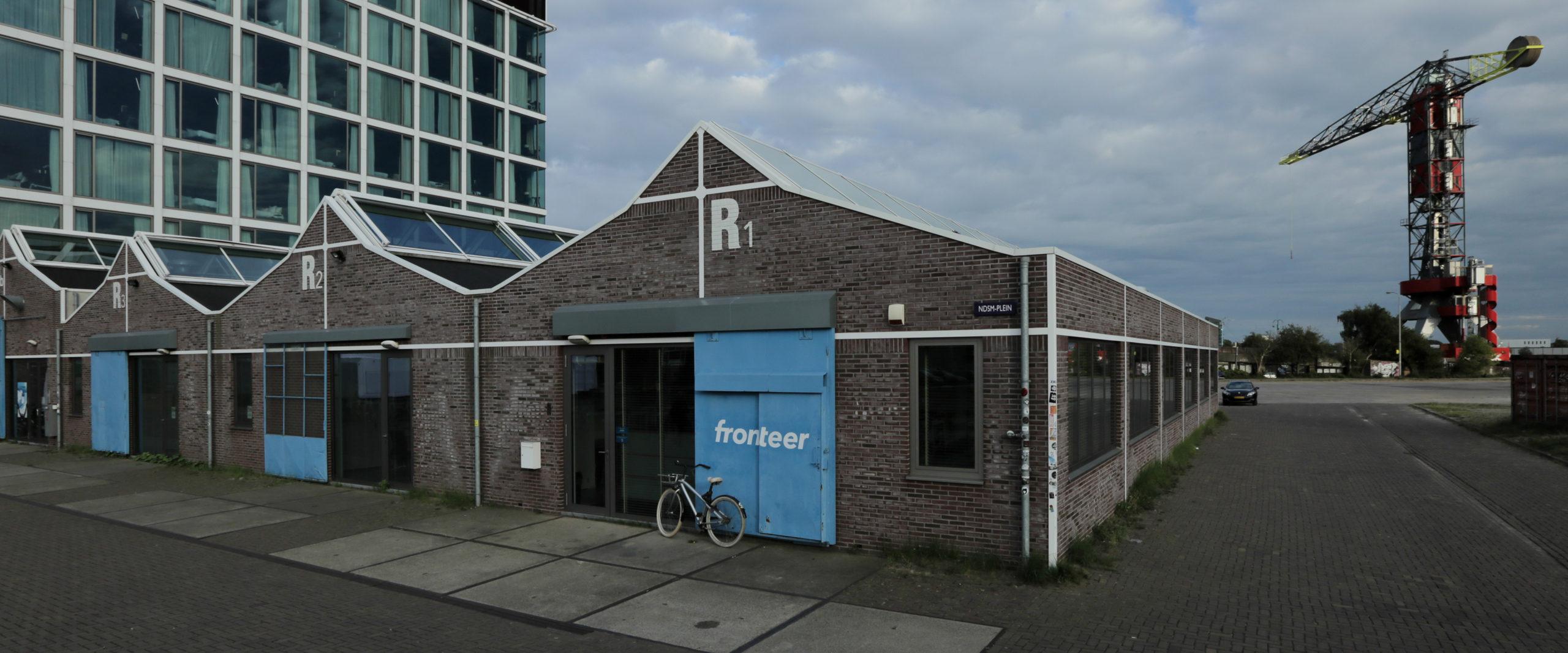 Fronteer is gevestigd op de NDSM-Werf in Amsterdam.